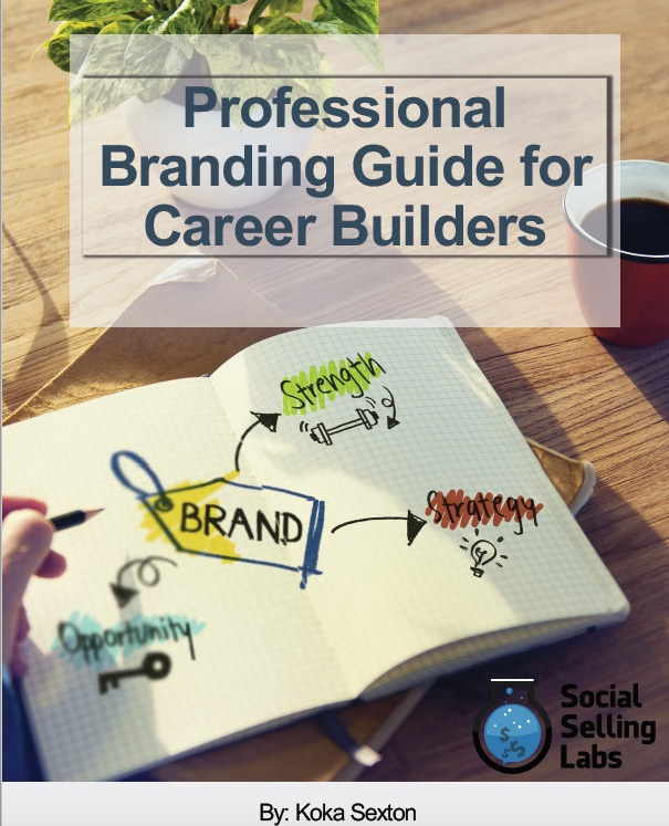 building a professional brand in sales
